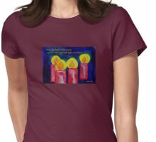 Light in your heart Womens Fitted T-Shirt