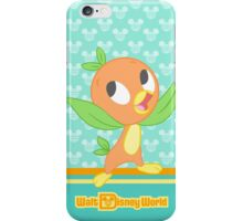 Turquoise WDW Orange Bird iPhone Case/Skin