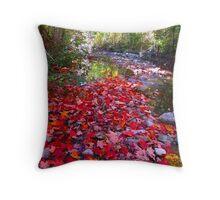 Maple Leaf sprinkles Throw Pillow
