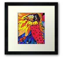 Flamenco! Framed Print