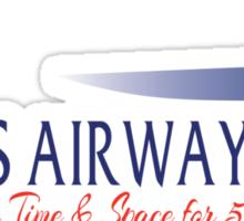 TARDIS Airways Sticker