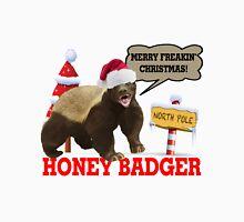 Honey Badger Merry Freakin' Christmas Unisex T-Shirt