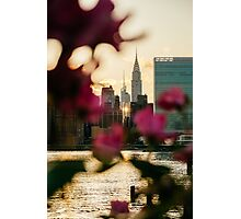 New York City Sunset - Chrysler Building Photographic Print