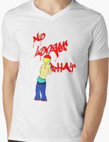No Longer Phat (blond) Mens V-Neck T-Shirt