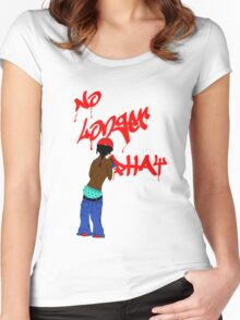 No Longer Phat Women's Fitted Scoop T-Shirt