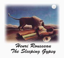 Henri Rousseau - Sleeping Gypsy by William Martin