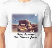 Henri Rousseau - Sleeping Gypsy Unisex T-Shirt