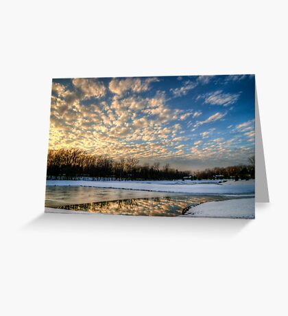 Puzzle Pieces to a Cloud Greeting Card