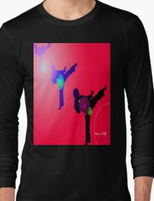 Just kicked in 2 Long Sleeve T-Shirt