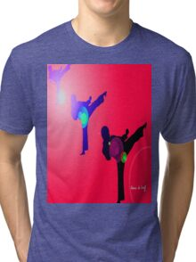 Just kicked in 2 Tri-blend T-Shirt