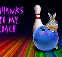 Thanks To My Coach Bunny by jkartlife