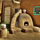 Oven On Taos Pueblo by K D Graves Photography