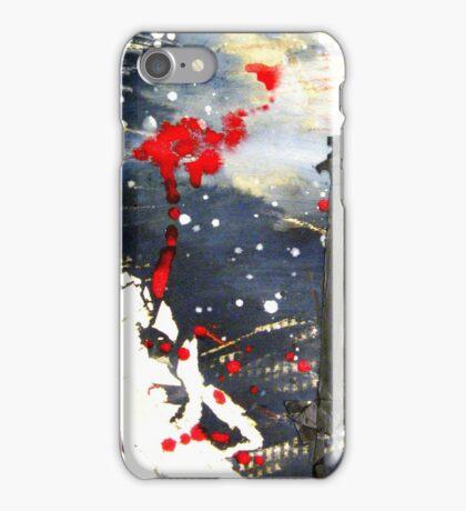 Exploding matchsticks iPhone Case/Skin