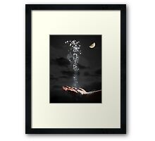 The Magicians trick. Framed Print