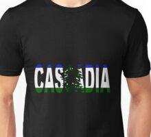 Cascadia, Flag in Letters Unisex T-Shirt