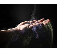 Spirit fingers. (color) Photographic Print