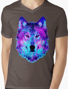 digital Disco Mens V-Neck T-Shirt