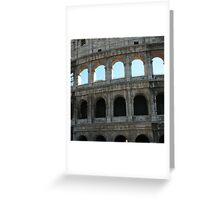 The Vespasian Amphitheater Greeting Card