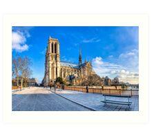 Our Lady of Paris  - Parisian Cathedral Art Print