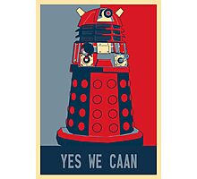 Dr Who - Yes We Caan Photographic Print