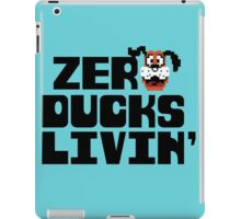 Zero Ducks Livin' iPad Case/Skin