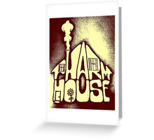 Pharmhouse Two-Tone Simple Greeting Card