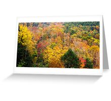 Mohican Autumn Greeting Card