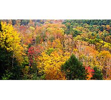 Mohican Autumn Photographic Print