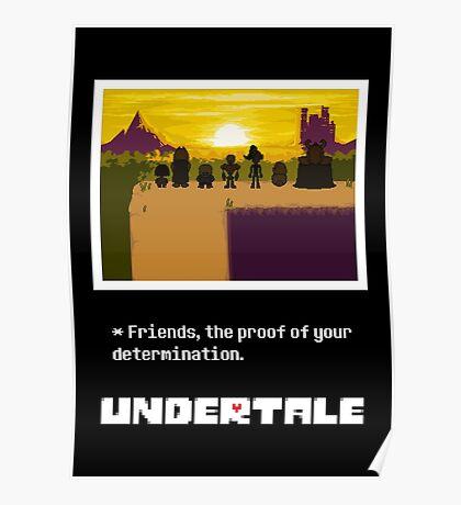 Undertale Friends Poster