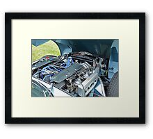 Classic V12 Engine Framed Print