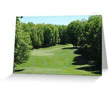 Golf Time - 2 Greeting Card