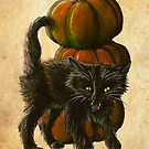 Halloween Black Cat by Brittney Lawrence