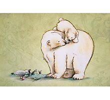 Mother and Cub 2 Photographic Print
