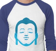 Calming Buddha Men's Baseball ¾ T-Shirt