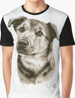 Dogs Eyes Graphic T-Shirt