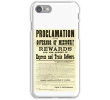 Frank & Jesse James Rewards iPhone Case/Skin