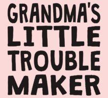 Grandma's Little Trouble Maker One Piece - Short Sleeve