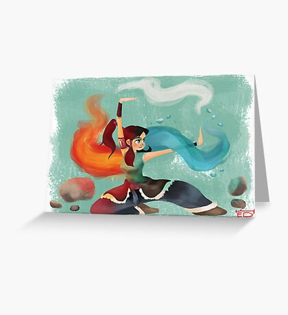 Legend of Korra Greeting Card