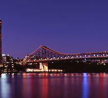 Brisbane Twilight on 100F Film by Martin Canning