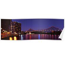 Brisbane Twilight on 100F Film Poster