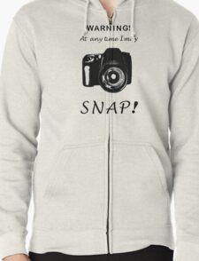 Snap! Zipped Hoodie