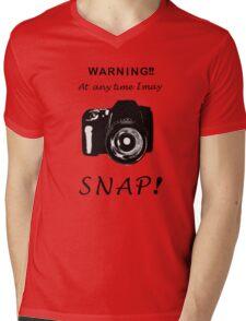 Snap! Mens V-Neck T-Shirt