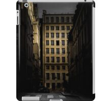 Open window in Paris iPad Case/Skin