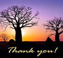 A Kimberley Thank You by Mieke Boynton