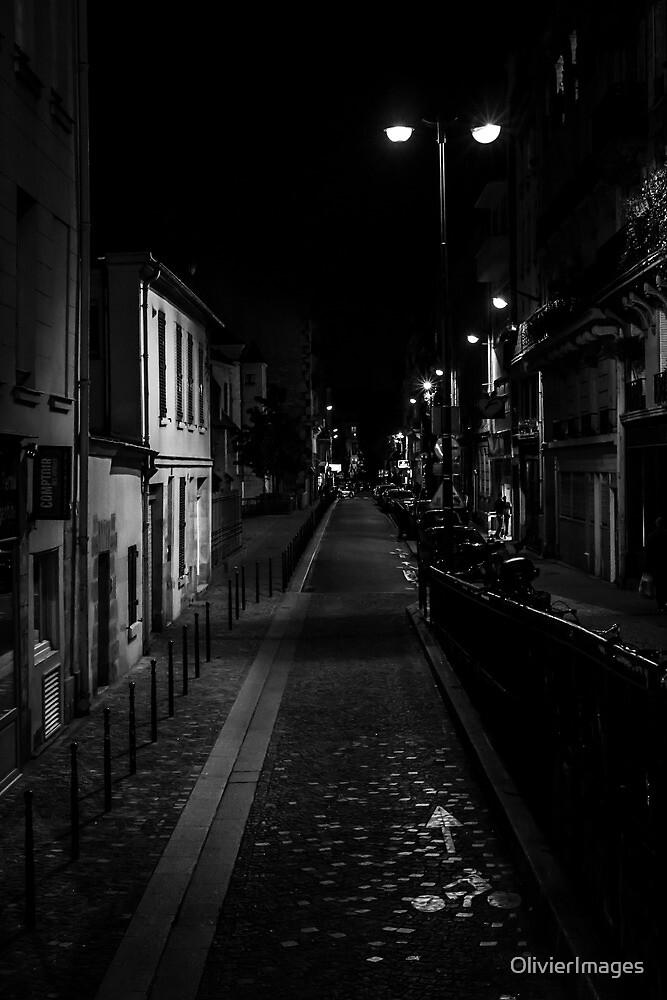 Street at Night by Olivier Sohn