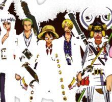 One Piece Gangsta Sticker