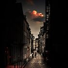Red cloud in Paris (France) by Olivier Sohn