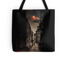Red cloud in Paris (France) Tote Bag