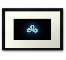 Cloud 9 Team Logo High Res Framed Print