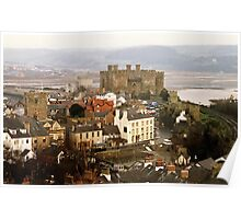 Conwy Castle from the Walls Poster